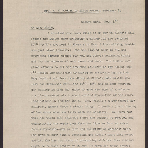 Alvin French Papers (Digitized Content) | Digital