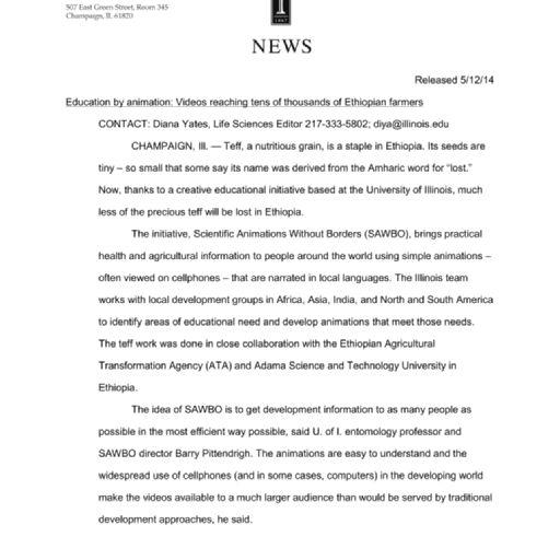 Press Releases (Public Affairs Office) File (Born Digital Records