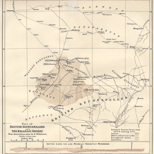 Map Of Africa Kalahari Desert.Maps Of Africa To 1900 Digital Collections At The University Of