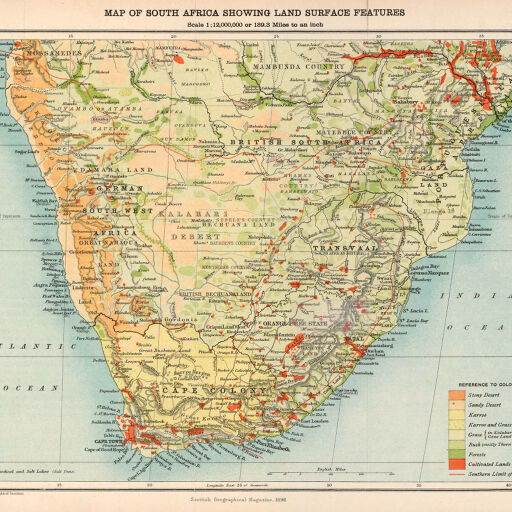 Map Of Africa Land Features.Maps Of Africa To 1900 Digital Collections At The University Of