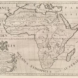Map Of Africa 1700.Maps Of Africa To 1900 Digital Collections At The University Of