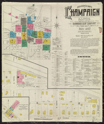 Sanborn Fire Map.Sanborn Fire Insurance Maps Digital Collections At The University