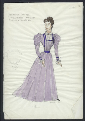 Motley Collection Of Theatre And Costume Design Digital Collections At The University Of Illinois At Urbana Champaign Library