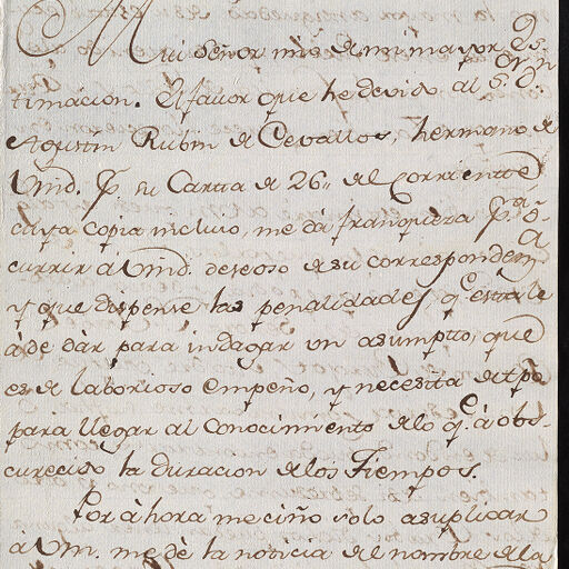 Conde de Montemar Letters | Digital Collections at the