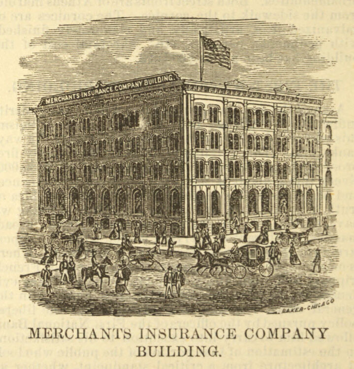 Merchants Insurance Company building