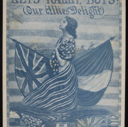 World War I Sheet Music from the James Francis Driscoll