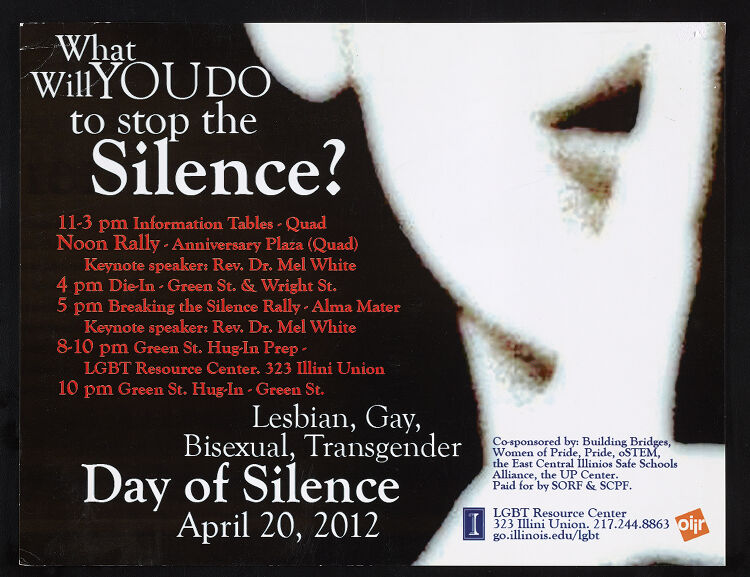 Day of Silence poster