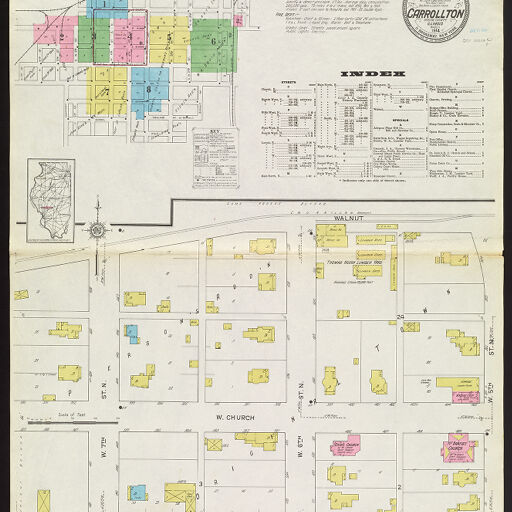 Sanborn Fire Insurance Maps | Digital Collections at the University