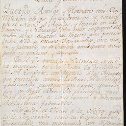 Conde De Montemar Letters Digital Collections At The University Of Illinois At Urbana Champaign Library