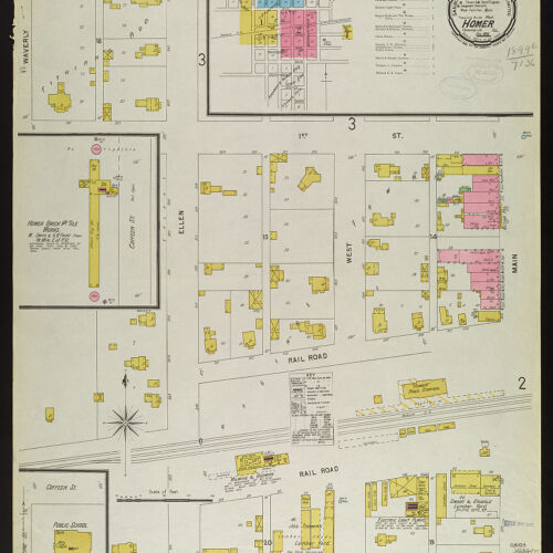 Sanborn Fire Insurance Maps   Digital Collections at the University on map of illinois suburbs, map of indiana, map of fl, map of illinois counties, map of pa, map of usa, map of illinois cities, map of mi, map of ny, map of state illinois, map of chicago, map of wi, map of northern illinois, map of galesburg illinois, map of mo, map of addison illinois, map of id, map of ks, map of new mexico, map of ia,