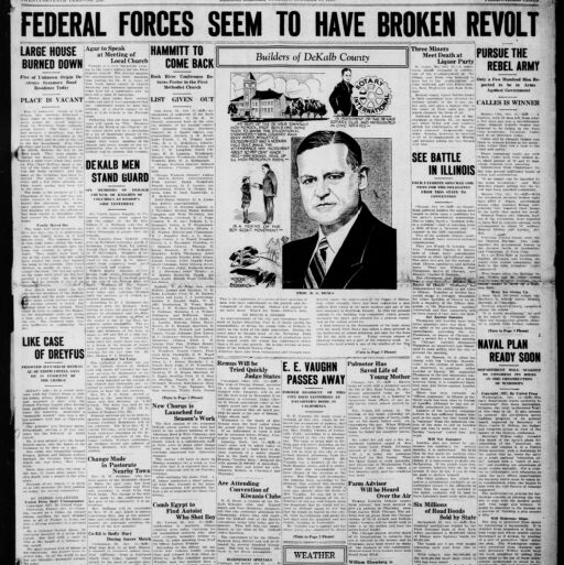 Illinois Digital Newspaper Collection | Digital Collections at the